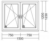 Sehr Gut Kunststofffenster Aluplast Ideal 4000 HO26